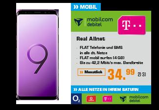 Samsung Galaxy S9 + Samsung Gear S3 Frontier
