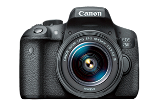 Canon EOS 750D + EF-S 18-55mm III